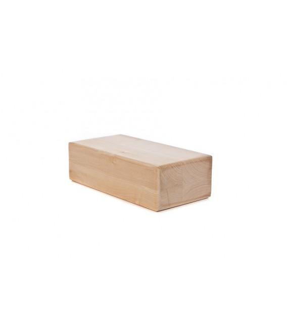 brique de yoga en bois massif. Black Bedroom Furniture Sets. Home Design Ideas