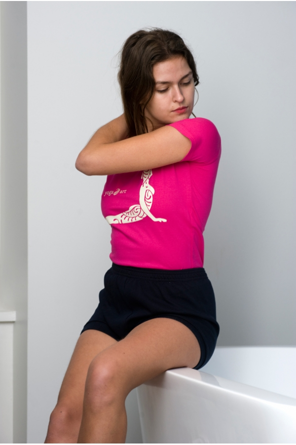 Short de Yoga bleu marine