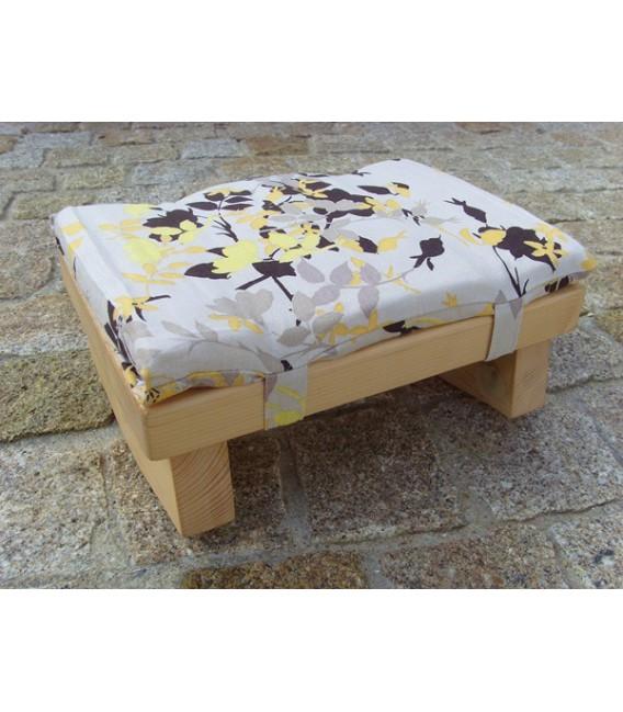 banc avec coussin bakchichbaba. Black Bedroom Furniture Sets. Home Design Ideas
