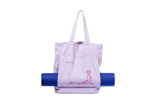 Sac de yoga rose