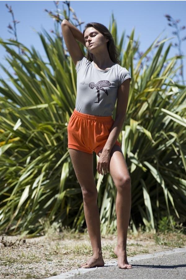 Short de Yoga orange