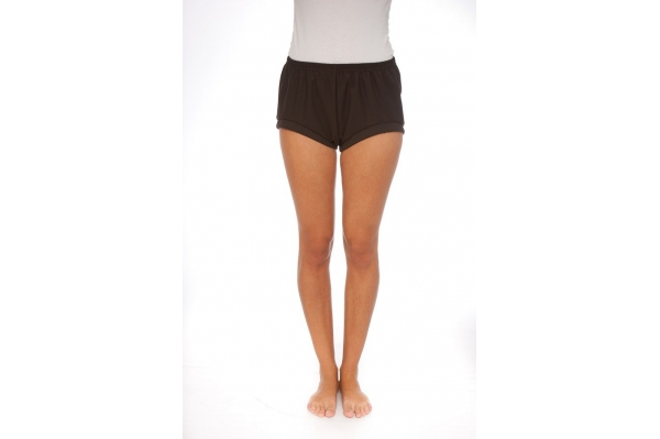 Shorty de Yoga marron