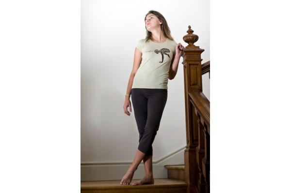 Pantalon de Yoga marron