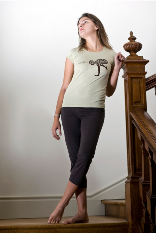 Pantalon de Yoga marron