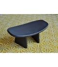 Meditation bench japanese style black