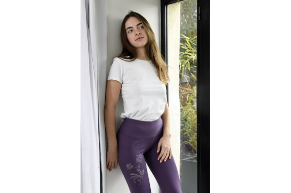Purple legging Mila