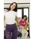 Purple legging Mila