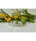 Bracelet Om namah shivaya en argent