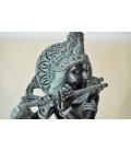 Grande sculpture de Krishna