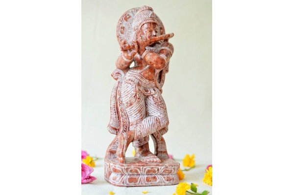 Sculpture de Krishna