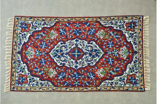 Silk carpet 2