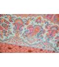 Châle de méditation en laine rose
