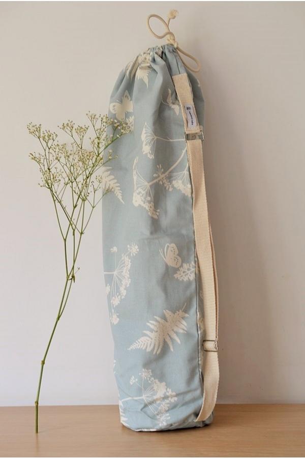 Yoga mat bag Emy fleurs des champs