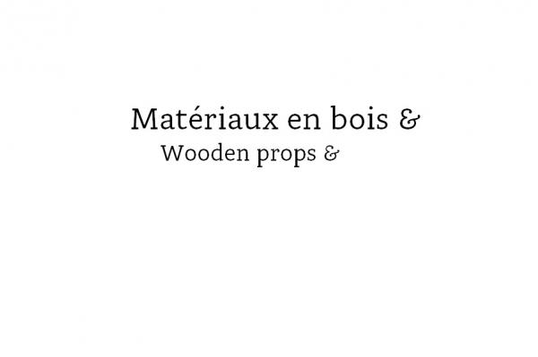 matériaux en bois