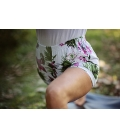 Yoga short jungle flowers