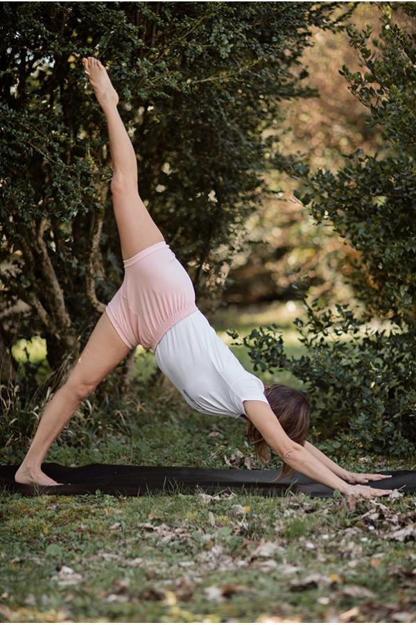 Short de Yoga rose