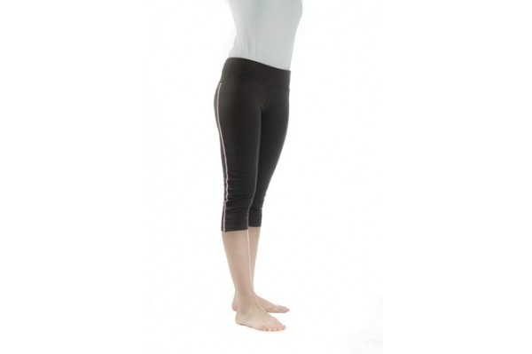 Leggings Yoga marron