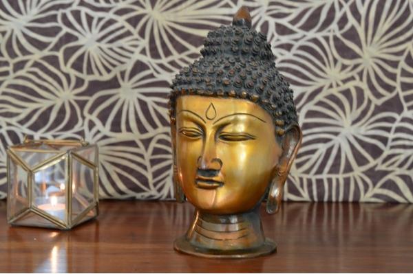 Statue tête de Bouddha