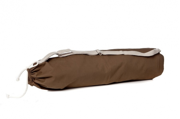 Chocolate Yoga mat bag